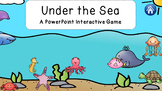 under the sea NO PREP powerpoint lesson with games flashca