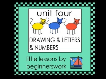 unit 4 DRAWINGS, LETTERs & NUMBERS by Karen Smullen