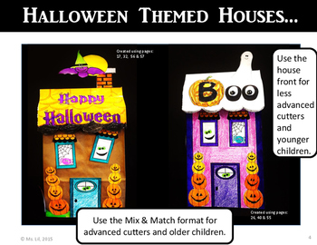 halloween haunted house craft halloween craft paper bag crafts