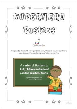 Superhero Posters - Character Building