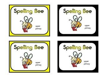 Spelling Bee (grades 4 - 6)