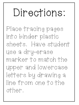 FREE Handwriting letter practice- learning uppercase and lowercase letters