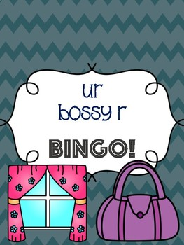 ur Bossy R Bingo [10 playing cards]