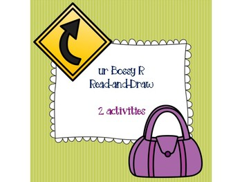 ur Bossy R Read-and-Draw
