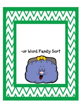 ur Word Family Word Sort