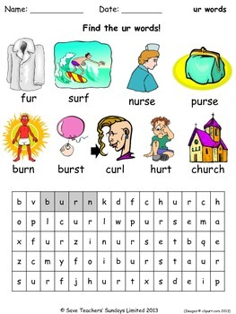 Ur Phonics Lesson Plans Worksheets And Other Teaching