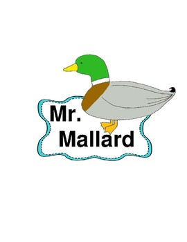 Make Way for Ducklings - A Reader's Theater