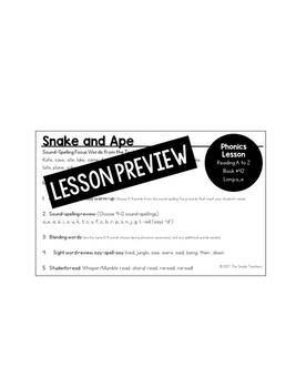 vCe (silent e) Lessons for Reading A to Z Decodable Books #42-45
