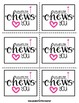 "Valentine, I ""Chews"" You! {a Craftivity}"