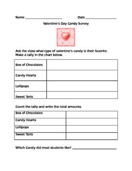 valentine's candy survey