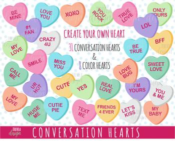 Conversation Hearts Stock Illustrations – 694 Conversation Hearts Stock  Illustrations, Vectors & Clipart - Dreamstime