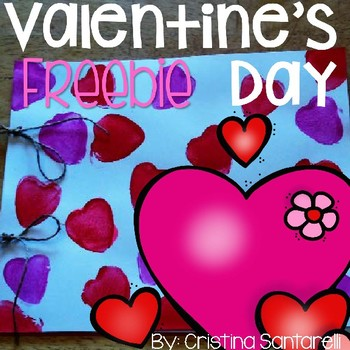 Free Valentines Day Booklet