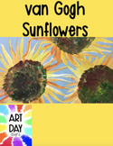 van Gogh Sunflower Painting Lesson