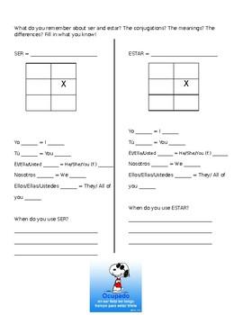venir/querer/traer practice worksheet (Realidades 5B)