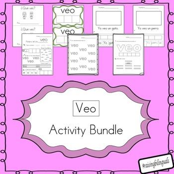 veo (escritura de la palabra de alta frecuencia) bundle