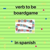 verb to be boardgame in Spanish / juego verbo ser en español.