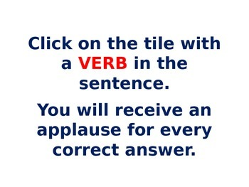 verbs identification exercise