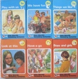 vintage KEY WORDS READING SCHEME key word SERIES play with us 1a 1b 2a 2b 3a 3b