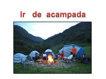 vocabulario acampar