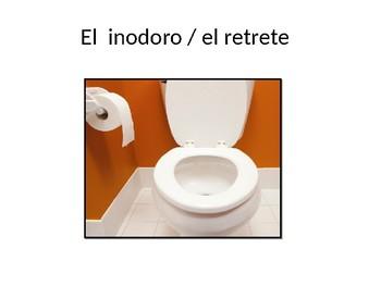 vocabulario el cuarto de baño