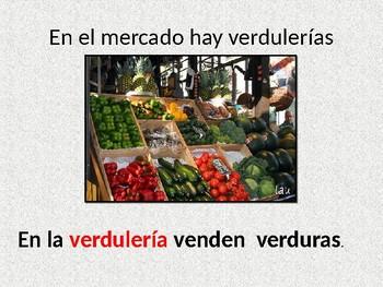 vocabulario en el mercado