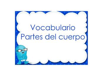 vocabulario las partes del cuerpo