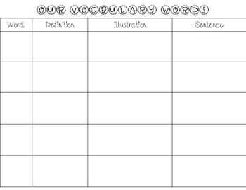 vocabulary activity worksheet