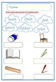 vocabulary  classroom English