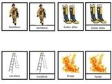 vocabulary firefighter - vocabulario bombero