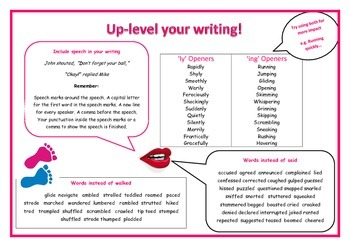vocabulary uplevelling mat