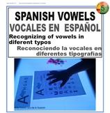 vocales en español - spanish vowels