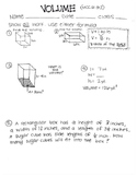 volume quiz/practice