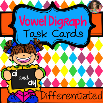 Vowel Digraph ai/ay Task Cards