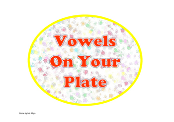 vowels on my plate