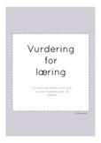 vurdering for læring - maler til vurderingsarbeid