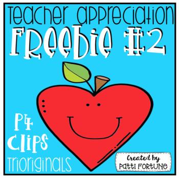 Teacher Appreciation #2 (P4 Clips Trioriginals)