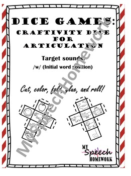 FREE /w/ initial Articulation Dice Craft