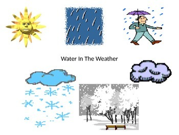 water in the weather science power point