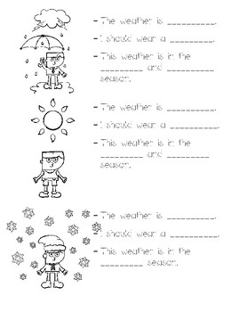weather and the 4 seasons