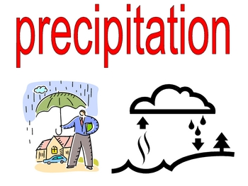 weather and water standards and vocabulary