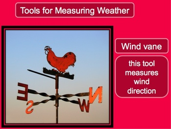 Weather and Weather Tools Power Point lesson and Interactive Notebook File