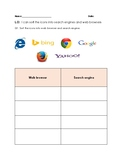 web browser and search engine