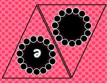welcome to kindergarten banner pink polka dot