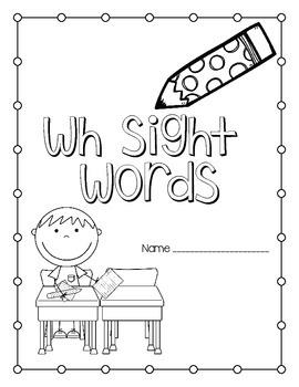 wh Sight Word *freebie*