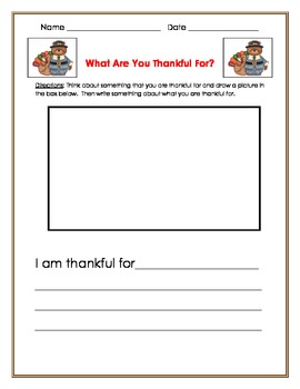 what are you thankful for- writing prompt
