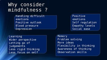What is mindfulness? - presentation