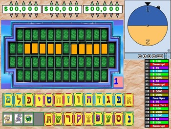 Wheel Of Fortune Template Worksheets & Teaching Resources | TpT