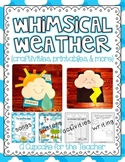 Weather Unit | Craftivities, Printables, & More!
