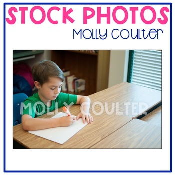 Stock Photo: Student Writing on a Whiteboard #2 -Personal