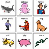 """Who Am I?"" Mask activity companion visual support~EC/AC language"